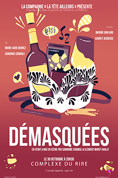 Affiche Demasquees Complexe